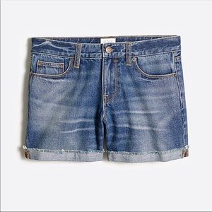 Denim shorts in Lexi Wash